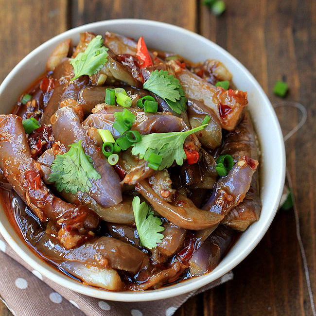 Chinese yu xiang eggplant recipe china sichuan food forumfinder Images