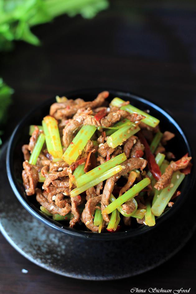 Szechuan Beef Stir Fry | China Sichuan Food Szechuan Beef
