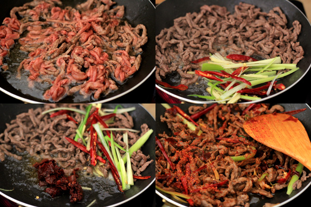 Szechuan beef stir fry china sichuan food szechuan beef shreds stir fry forumfinder Choice Image