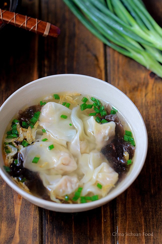 Wonton soup recipe china sichuan food wonton soup recipe forumfinder Choice Image