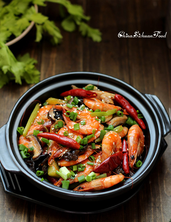 Shrimp Dry Pot|ChinaSichuanFood