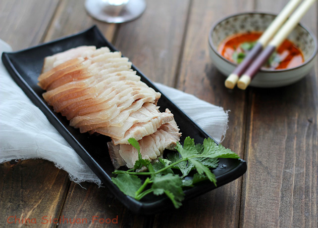 garlic pork slice