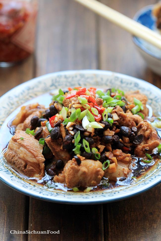 Fermented Black Beans Ribs | China Sichuan Food