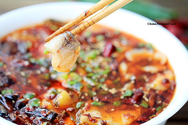 Boiled fish sichuanshui zhu yu recipe china sichuan food sichuan boiled fish forumfinder Gallery