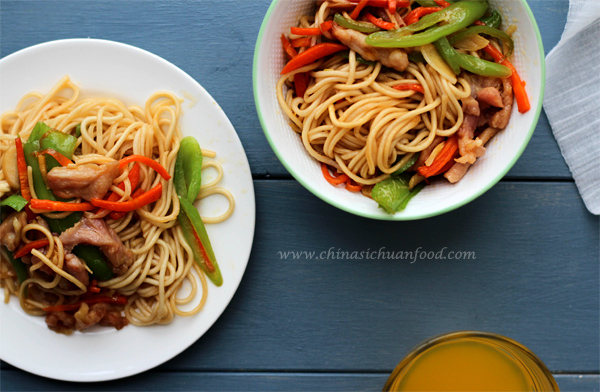 Chicken chow mein china sichuan food chicken chow mein forumfinder Image collections