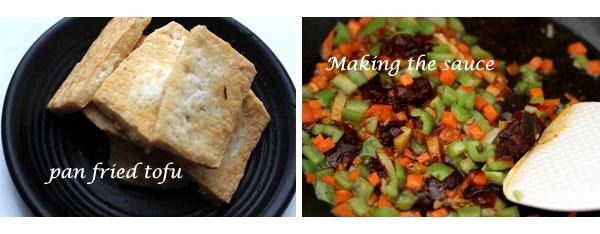 home style tofu--tofu stir fry recipe