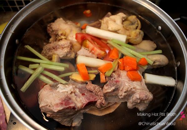 hot pot soup broth
