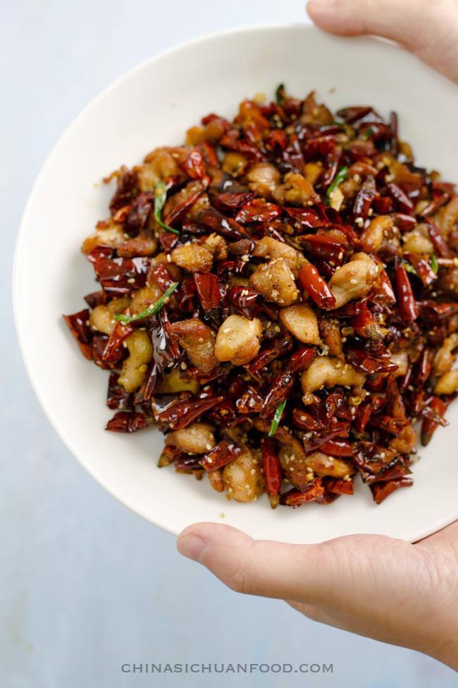 Chongqing Mala Chicken China Sichuan Food
