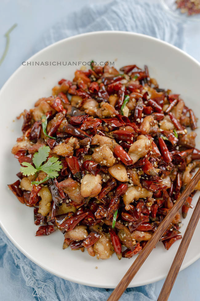 mala chicken, Chongqing chicken
