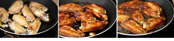 Red-cooking Chicken Wings