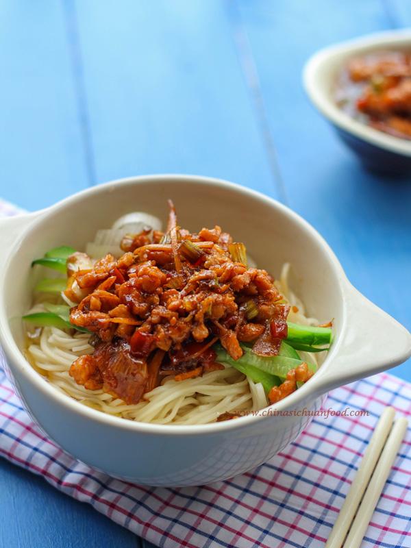 Pork Lo Mein ChinaSichuanFood