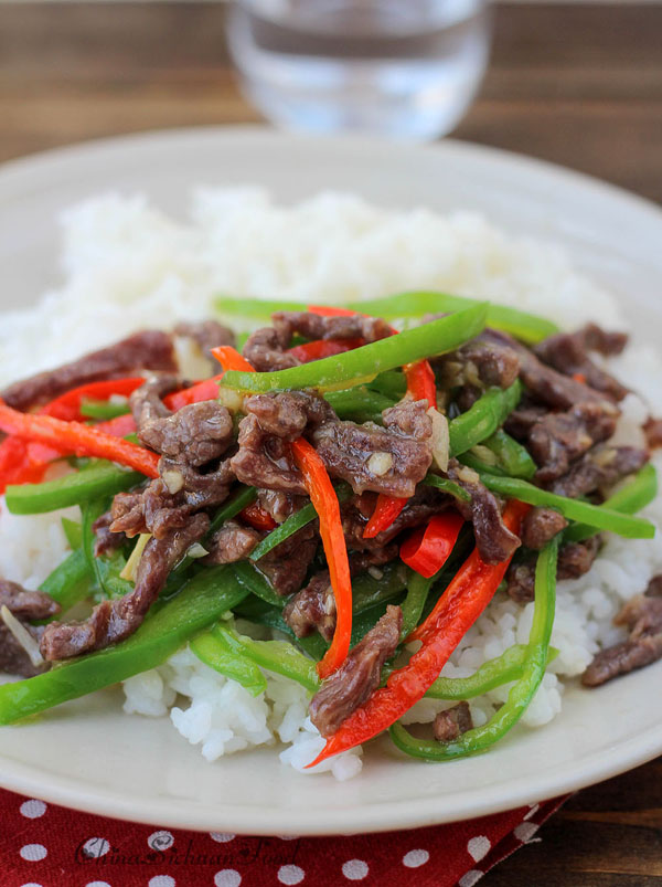 Stir fried beef with green peppers china sichuan food stir fried beef with green pepperschinasichuanfood forumfinder Choice Image