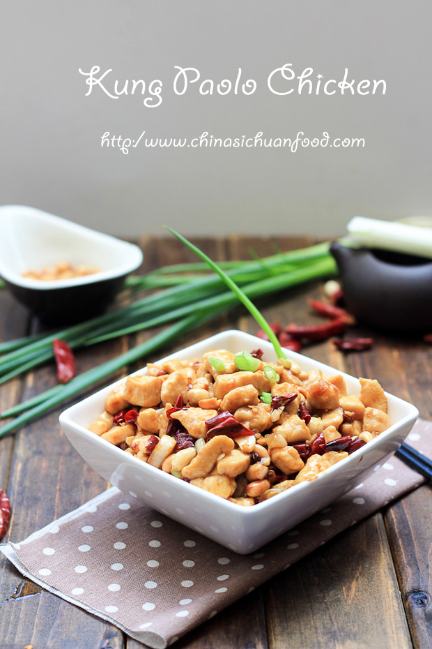 Authentic Kung Pao Chicken China Sichuan Food