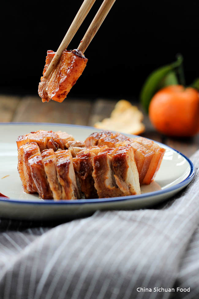 Sliced chinese pork belly recipes