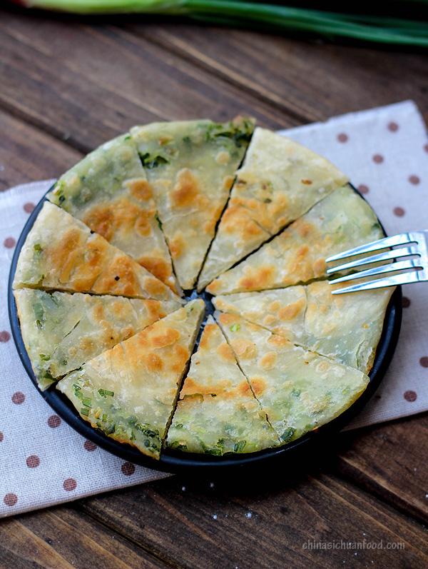 Chinese scallion pancakes|ChinaSichuanFood