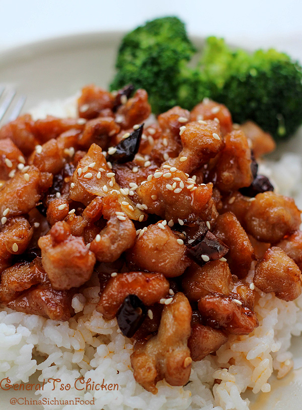 General Tso Chickengeneral Tsos Chicken China Sichuan Food