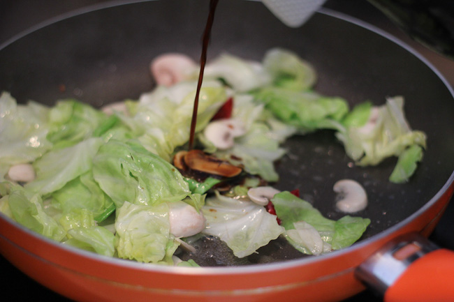 how to cook cabbage in stir fry