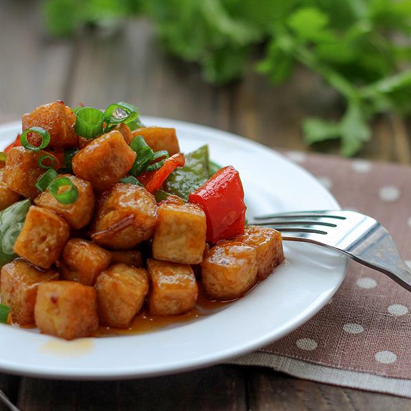 Vegan Kung Pao Tofu – China Sichuan Food