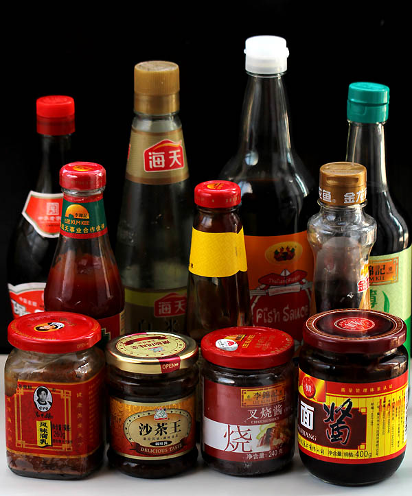 chinese sauces in my kitchen