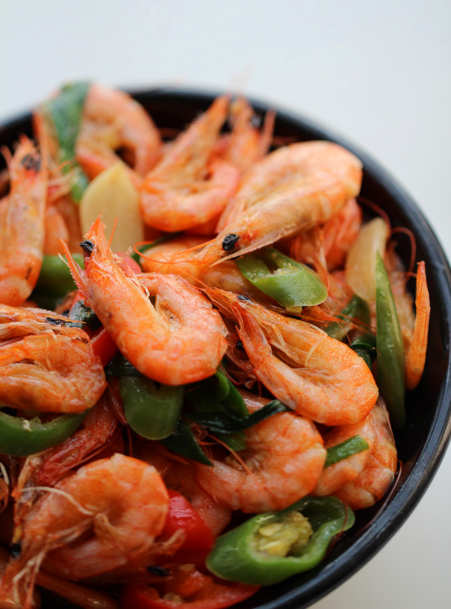 Spicy stir fry shrimp china sichuan food spicy stir fry shrimp forumfinder Image collections