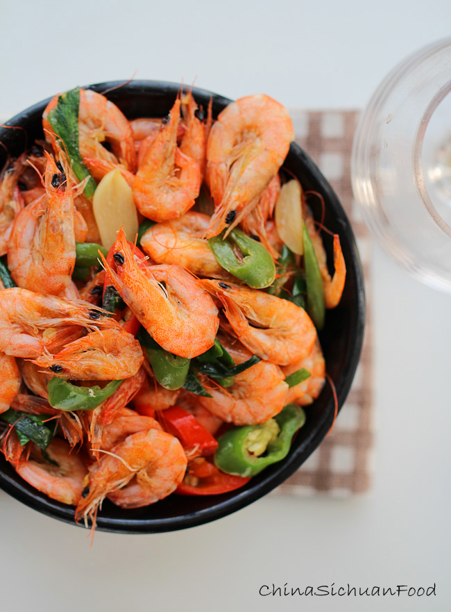 Spicy Stir Fry shrimp |ChinaSichuanFood