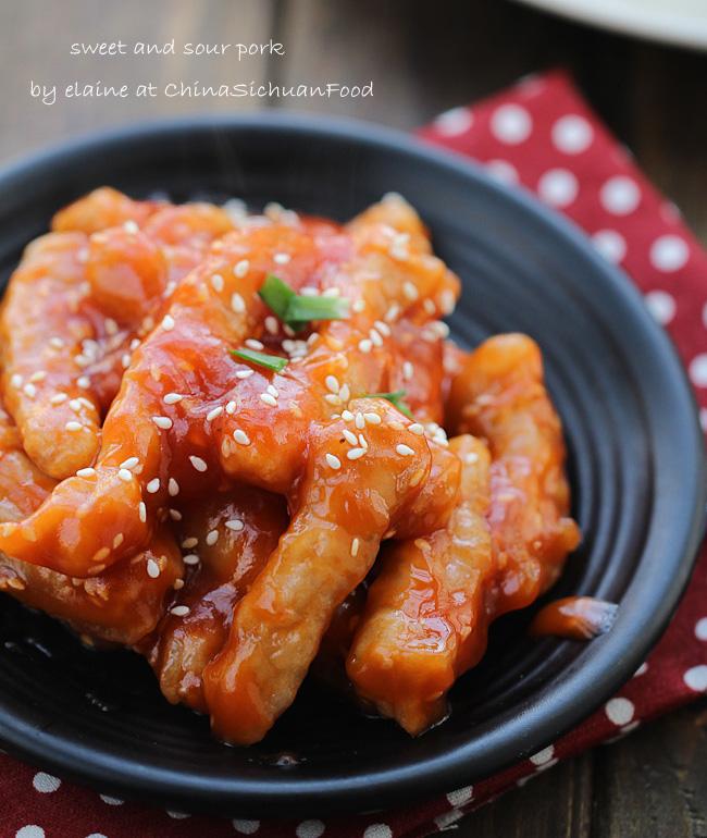 Sweet and sour porktang cu li ji china sichuan food sweet and sour porkchinasichuanfood forumfinder Choice Image