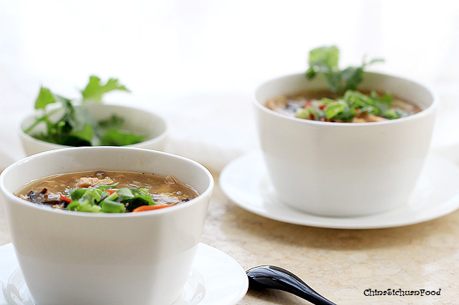 Hot and sour soup|ChinaSichuanFood