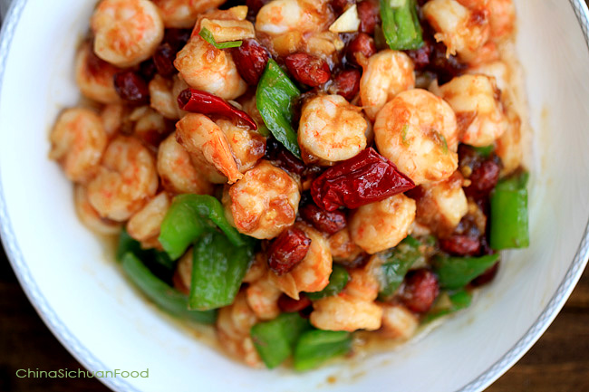 Easy Shrimp Chow Mein China Sichuan Food