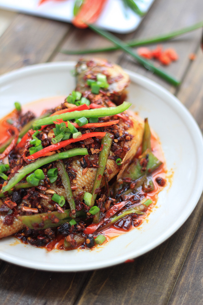 Braised Spicy Fish—Sichuan Style