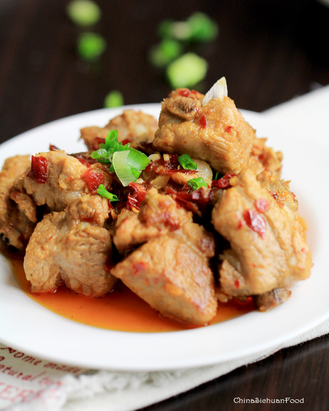 Spicy Garlic Ribs-Braised version