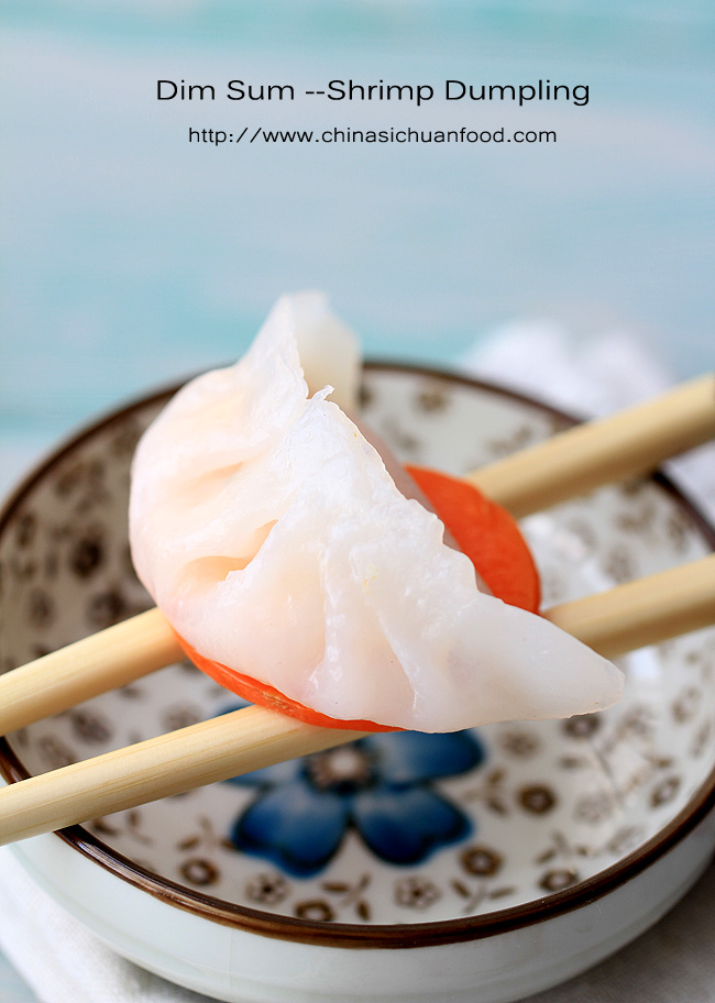 Dim-sum Shrimp Dumpling (Har Gow)