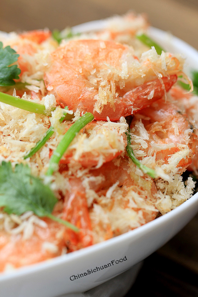 Easy Stir-fried Shrimp with Breadcrumbs