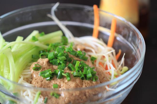 Sesame Cold Noodles