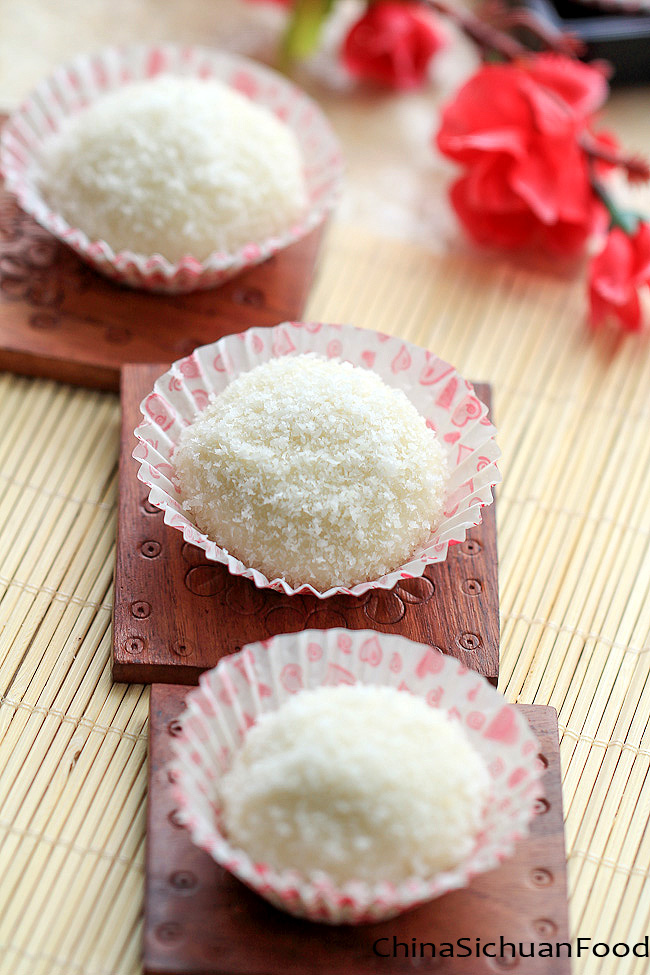 Sticky Rice Balls--Nuomici