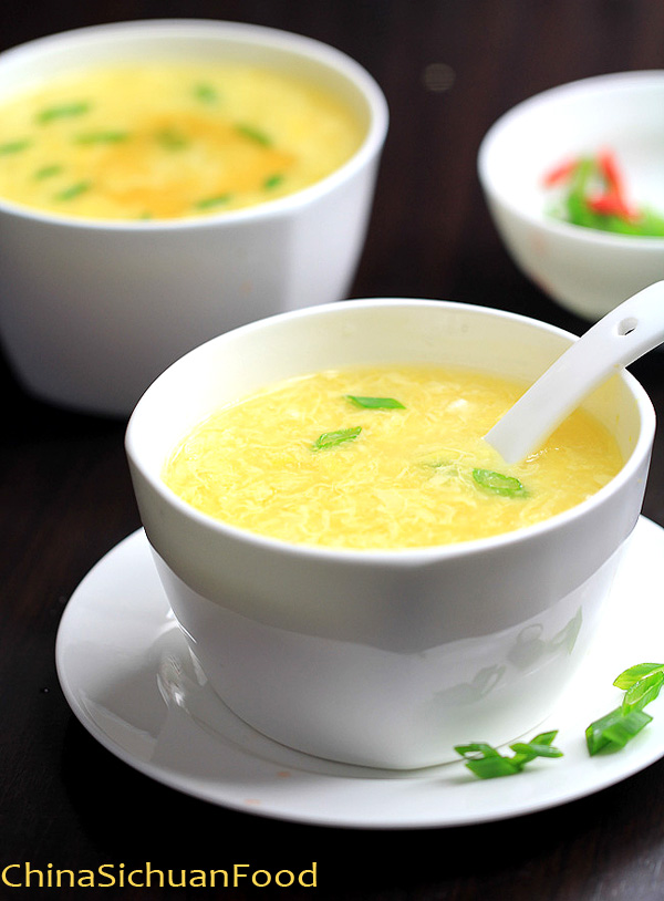 Corn Egg Drop Soup