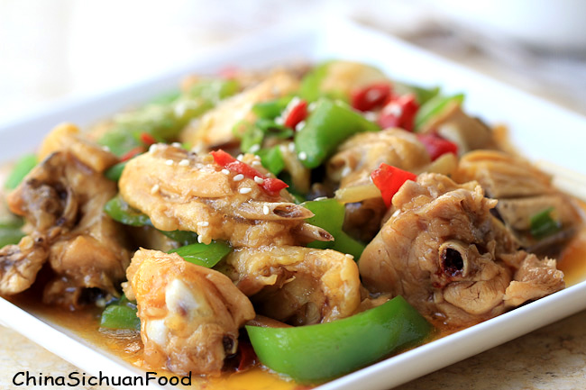 Hunan Chicken Chinese Food