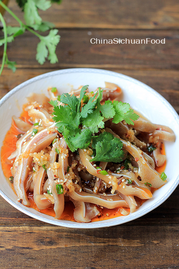 Chinese Pig Ear Salad