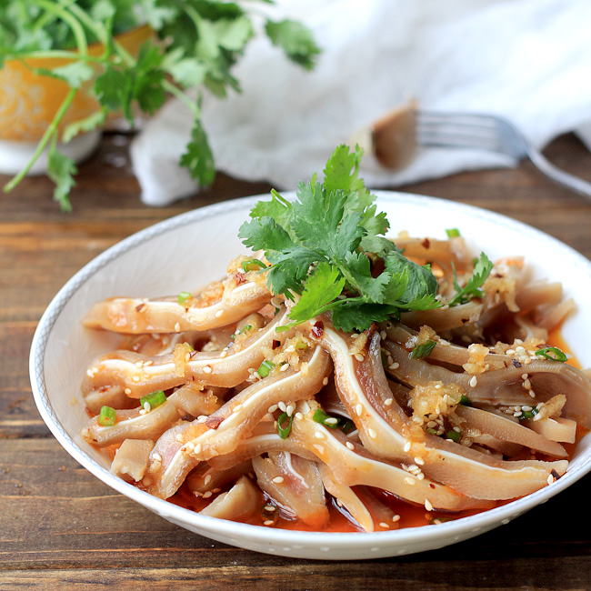 Chinese pig ear salad china sichuan food chinese pig ear salad forumfinder Images