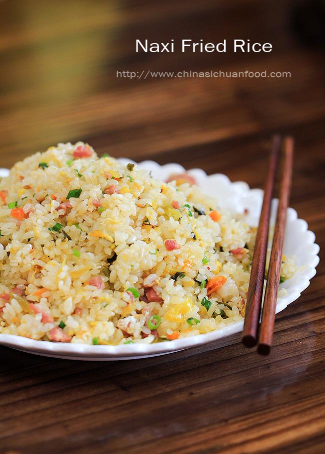 Naxi-fried rice