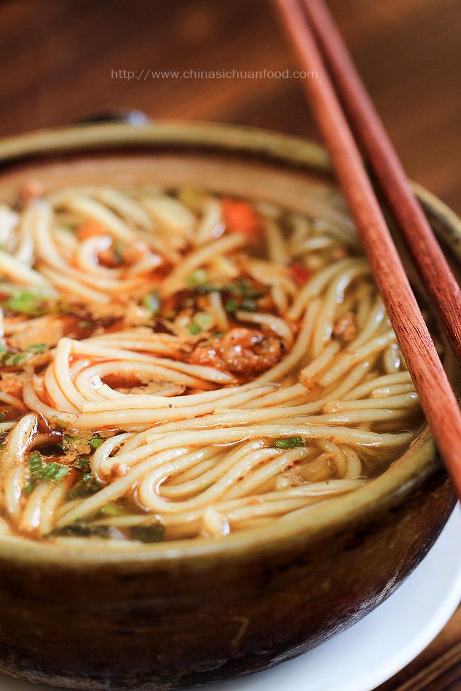 Chinese rice noodles--Yunnan Food