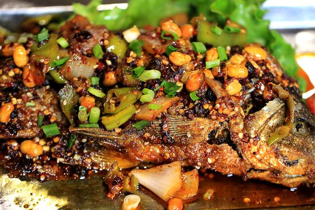 Yunnan grilled fish
