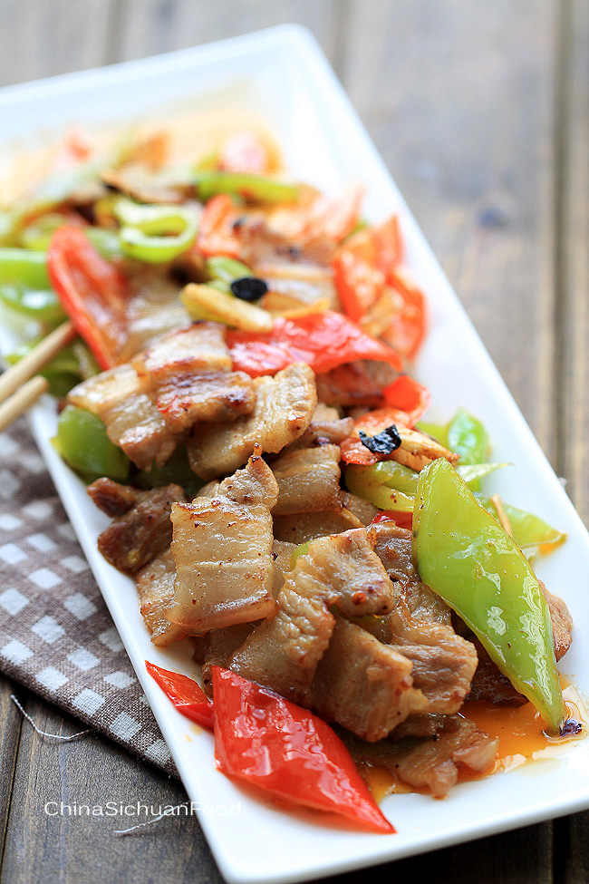 Easy pork stir fry with peppers china sichuan food easy pork stir fry with peppers forumfinder Choice Image