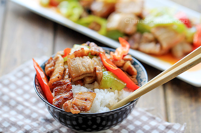 Easy pork stir fry with peppers china sichuan food easy pork stir fry recipe forumfinder Image collections