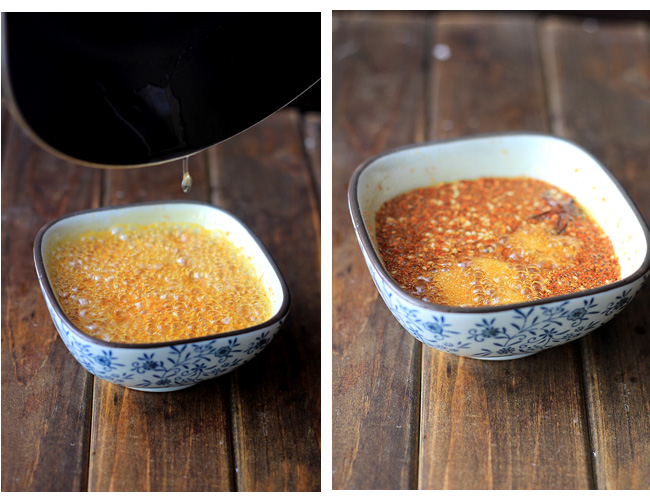 Chinese chili oil--simplified version