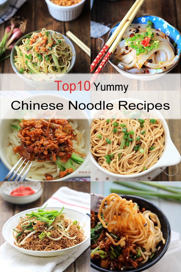 10 yummy Chinese noodle recipes