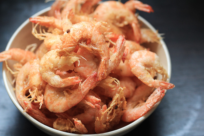 Chinese Salt and Pepper Shrimp | China Sichuan Food