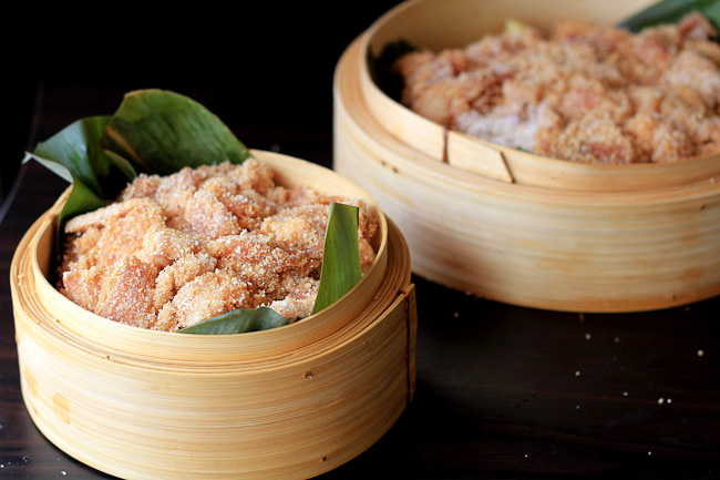 (FenzhengRou)Steamed Pork with Rice Flour