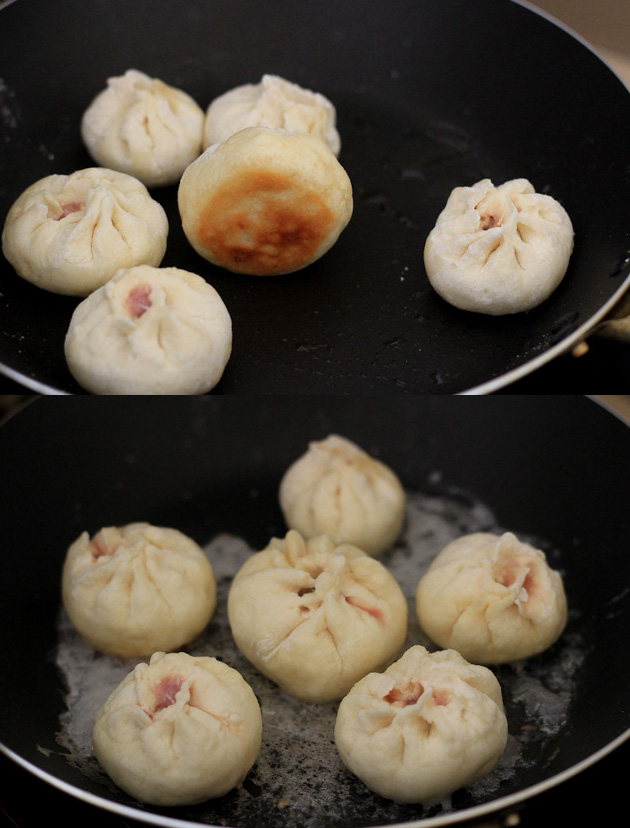 Sheng Jian Bao--Pan-Fried Pork Buns