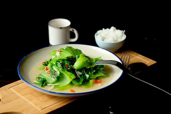 mustard green recipe