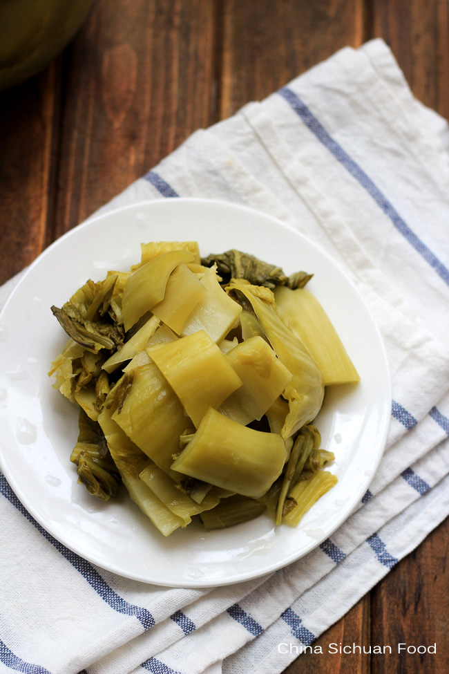 pickled mustard green recipe